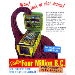 Flipper FOUR MILLION BC - Bally - 1971