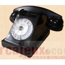 Location téléphone U43 Noir à cadran 1943