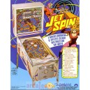 Location flipper Jet Spin 1977