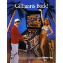 1991 Flipper Gilligan's Island